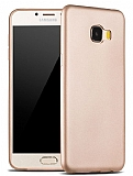 X-Level Guardian Samsung Galaxy C7 SM-C7000 İnce Gold Silikon Kılıf