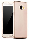 X-Level Guardian Samsung Galaxy C7 SM-C7000 İnce Gold Silikon Kılıf