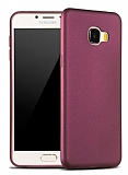X-Level Guardian Samsung Galaxy C7 SM-C7000 İnce Bordo Silikon Kılıf