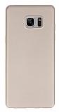 X-Level Guardian Samsung Galaxy Note FE İnce Gold Silikon Kılıf