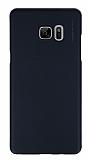 X-Level Metalic Samsung Galaxy Note FE İnce Siyah Rubber Kılıf