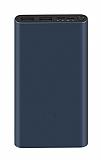 Xiaomi 3 18W 10000 mAh Powerbank Siyah Yedek Batarya