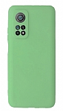 Xiaomi Mi 10T Kamera Korumalı Yeşil Silikon Kılıf
