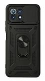 Eiroo Magnet Lens Xiaomi Mİ 11 Lite Ultra Koruma Siyah Kılıf