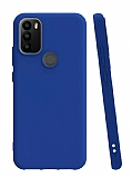 General Mobile GM 21 Plus Mavi Silikon Kılıf