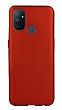 OnePlus Nord N100 Kırmızı Mat Silikon Kılıf