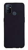 OnePlus Nord N100 Siyah Mat Silikon Kılıf