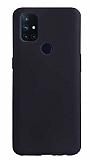 OnePlus Nord N10 5G Mat Siyah Silikon Kılıf