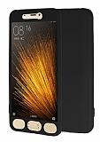 Xiaomi Mi 5 360 Derece Koruma Likit Siyah Silikon Kılıf