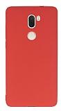 Xiaomi Mi 5s Plus Mat Pembe Silikon Kılıf