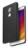Xiaomi Mi 5s Plus Tam Kenar Koruma Siyah Rubber Kılıf
