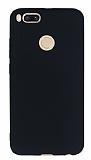 Xiaomi Mi 5X Mat Siyah Silikon Kılıf
