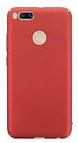 Xiaomi Mi 5X / Mi A1 Tam Kenar Koruma Kırmızı Rubber Kılıf