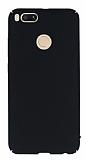 Xiaomi Mi 5X / Mi A1 Tam Kenar Koruma Siyah Rubber Kılıf