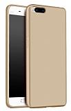 Xiaomi Mi 6 Mat Gold Silikon Kılıf