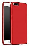 Xiaomi Mi 6 Mat Kırmızı Silikon Kılıf