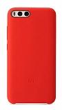 Xiaomi Mi 6 Orjinal Kırmızı Silikon Kılıf