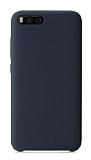 Xiaomi Mi 6 Orjinal Lacivert Silikon Kılıf