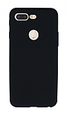 Xiaomi Mi 8 Lite Mat Siyah Silikon Kılıf