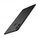 Xiaomi Mi 8 Tam Kenar Koruma Siyah Rubber Kılıf