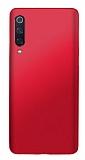 Xiaomi Mi 9 SE Mat Kırmızı Silikon Kılıf