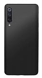 Xiaomi Mi 9 SE Mat Siyah Silikon Kılıf