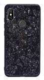 Xiaomi Mi A2 Lite Desenli Silikon Kenarlı Siyah Rubber Kılıf