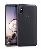Xiaomi Mi A2 Mat Siyah Silikon Kılıf