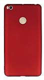 Xiaomi Mi Max 2 Mat Kırmızı Silikon Kılıf