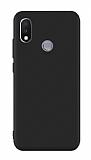 Xiaomi Mi Max 3 Siyah Mat Silikon Kılıf