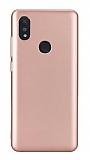 Xiaomi Mi Max 3 Rose Gold Mat Silikon Kılıf