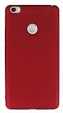Xiaomi Mi Max Mat Kırmızı Silikon Kılıf