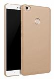 Xiaomi Mi Max Tam Kenar Koruma Gold Rubber Kılıf