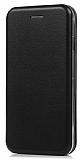 Xiaomi Mi Mix 2 Curve Manyetik Kapaklı Siyah Deri Kılıf