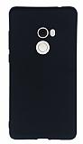 Xiaomi Mi Mix 2 Mat Siyah Silikon Kılıf