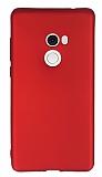 Xiaomi Mi Mix 2 Mat Kırmızı Silikon Kılıf