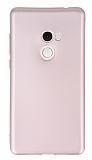 Xiaomi Mi Mix 2 Mat Rose Gold Silikon Kılıf