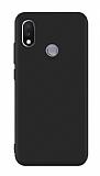 Xiaomi Mi Mix 3 Mat Siyah Silikon Kılıf