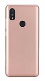 Xiaomi Mi Mix 3 Mat Rose Gold Silikon Kılıf