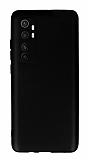 Xiaomi Mi Note 10 Lite Siyah Mat Silikon Kılıf