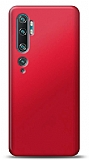 Xiaomi Mi Note 10 Pro Mat Kırmızı Silikon Kılıf