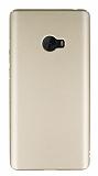 Xiaomi Mi Note 2 Tam Kenar Koruma Gold Rubber Kılıf