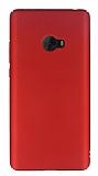 Xiaomi Mi Note 2 Tam Kenar Koruma Kırmızı Rubber Kılıf