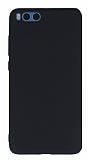 Xiaomi Mi Note 3 Mat Siyah Silikon Kılıf