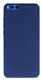 Xiaomi Mi Note 3 Tam Kenar Koruma Lacivert Rubber Kılıf