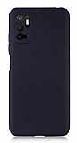 Xiaomi Poco M3 Pro Kamera Korumalı Mat Siyah Silikon Kılıf