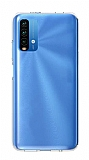 Xiaomi Poco M3 Ultra İnce Şeffaf Silikon Kılıf