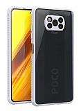 Xiaomi Poco X3 Ultra Koruma Kaff Mor Kılıf