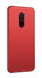 Xiaomi Pocophone F1 Mat Kırmızı Silikon Kılıf