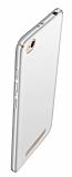 Xiaomi Redmi 4A Tam Kenar Koruma Silver Rubber Kılıf